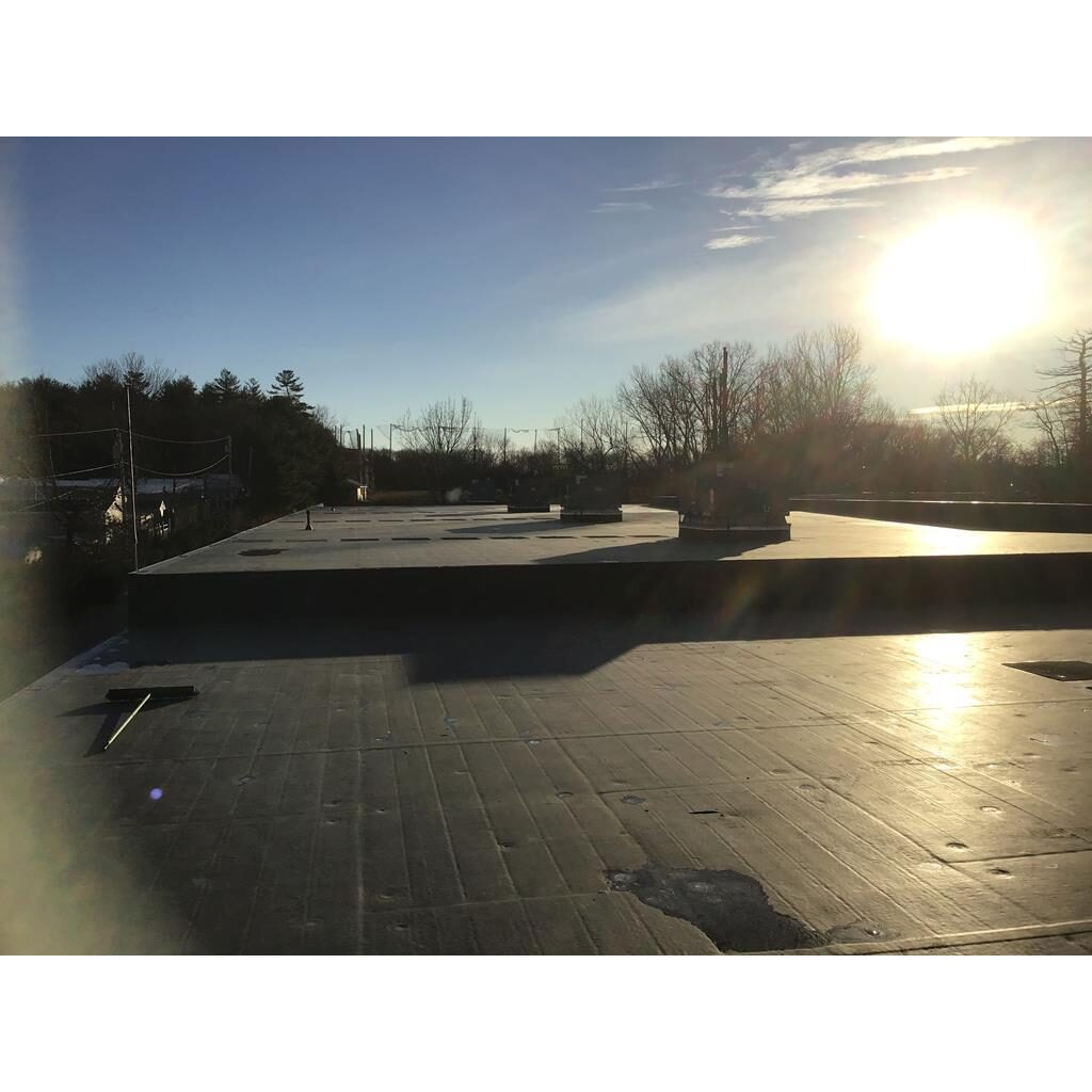 Boston Flat Roof Tear Down to the Deck
